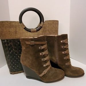 BCBGeneration Suede Ankle Boots